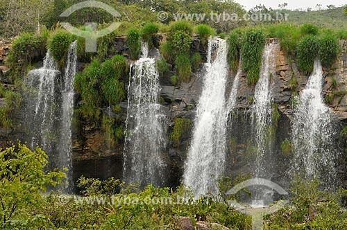 Assunto: Cachoeira da Gruta no Ribeirão do Claro - complexo da Serra da Canastra / Local: Delfinópolis - Minas Gerais (MG) - Brasil / Data: 03/2013