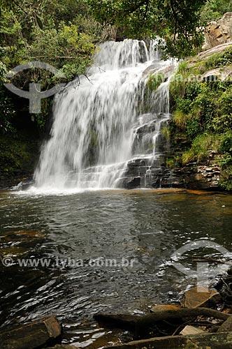 Assunto: Cachoeira da Paz no Ribeirão do Claro - complexo da Serra da Canastra / Local: Delfinópolis - Minas Gerais (MG) - Brasil / Data: 03/2013