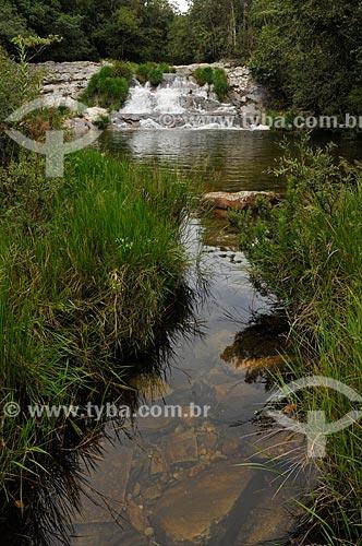 Assunto: Cachoeira do Tombo no Ribeirão do Claro - complexo da Serra da Canastra / Local: Delfinópolis - Minas Gerais (MG) - Brasil / Data: 03/2013