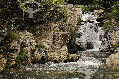 Assunto: Cachoeira do Dr Pinto no complexo da Serra da Canastra / Local: Delfinópolis - Minas Gerais (MG) - Brasil / Data: 03/2013