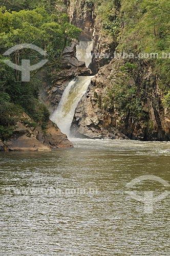 Assunto: Cachoeira Santo Antônio no complexo da Serra da Canastra / Local: Delfinópolis - Minas Gerais (MG) - Brasil / Data: 03/2013