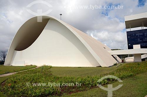 Assunto: Auditório JK na Cidade Administrativa Presidente Tancredo Neves (2010) / Local: Belo Horizonte - Minas Gerais (MG) - Brasil / Data: 01/2013