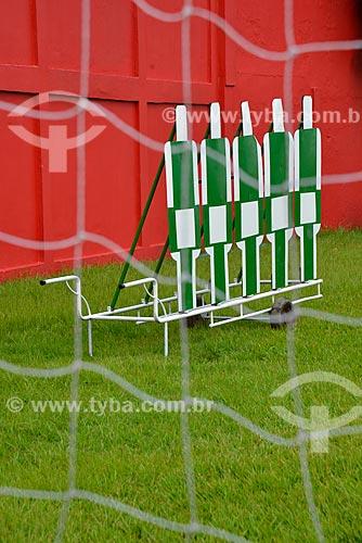 Assunto: Equipamento de barreira de futebol para treinamento / Local: Rio de Janeiro (RJ) - Brasil / Data: 03/2013