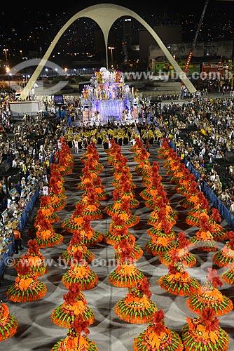 Assunto: Desfile do Grêmio Recreativo Escola de Samba Acadêmicos do Salgueiro - Ala das Baianas - Enredo 2013 - Fama / Local: Rio de Janeiro (RJ) - Brasil / Data: 02/2013