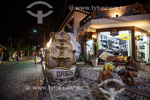 Assunto: Comércio na Avenida Baía dos Golfinhos  / Local: Distrito de Pipa - Tibau do Sul - Rio Grande do Norte  (RN) - Brasil / Data: 03/2013