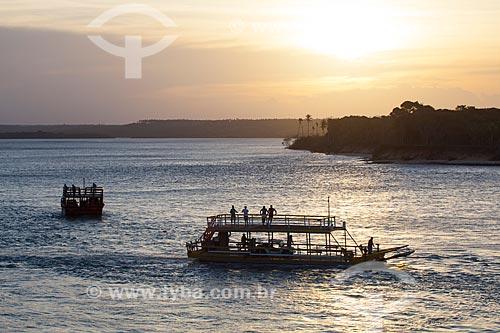 Assunto: Barcos na Lagoa de Guaraíras, também conhecida como Lagoa do Tibau  / Local: Distrito de Pipa - Tibau do Sul - Rio Grande do Norte  (RN) - Brasil / Data: 03/2013
