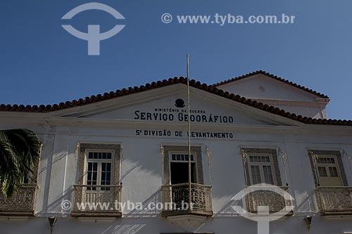 Assunto: Fachada da 5ª Divisão de Levantamento General Alfredo Vidal - Serviço Geográfico do Exército / Local: Saúde - Rio de Janeiro (RJ) - Brasil / Data: 05/2013