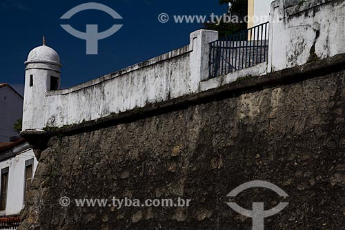 Assunto: Guarita da Fortaleza de Nossa Senhora da Conceição (1718) - atualmente abriga o Serviço Geográfico do Exército / Local: Saúde - Rio de Janeiro (RJ) - Brasil / Data: 05/2013