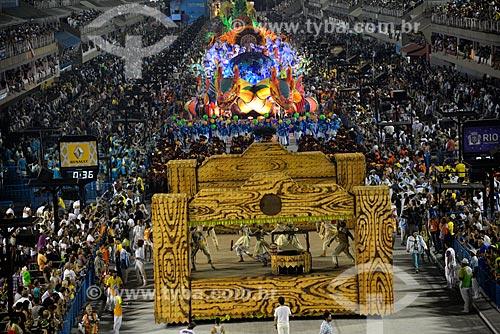 Assunto: Desfile do Grêmio Recreativo Escola de Samba Unidos de Vila Isabel - Comissão de frente - Enredo 2013 - Água no feijão que chegou mais um... / Local: Rio de Janeiro (RJ) - Brasil / Data: 02/2013