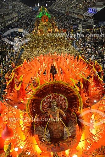 Assunto: Desfile do Grêmio Recreativo Escola de Samba Unidos de Vila Isabel - Carro alegórico - Enredo 2013 - Água no feijão que chegou mais um... / Local: Rio de Janeiro (RJ) - Brasil / Data: 02/2013