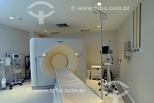 Assunto: Sala de Tomografia Computadorizada de hospital / Local: Rio de Janeiro (RJ) - Brasil / Data: 04/2013