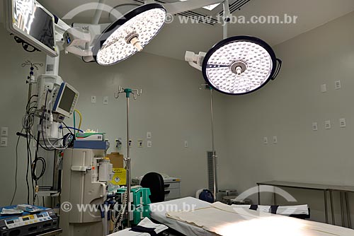 Assunto: Centro cirúrgico de hospital / Local: Rio de Janeiro (RJ) - Brasil / Data: 04/2013