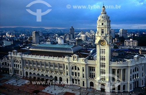 Assunto: Fachada da Sala São Paulo / Local: São Paulo (SP) - Brasil / Data: 1999