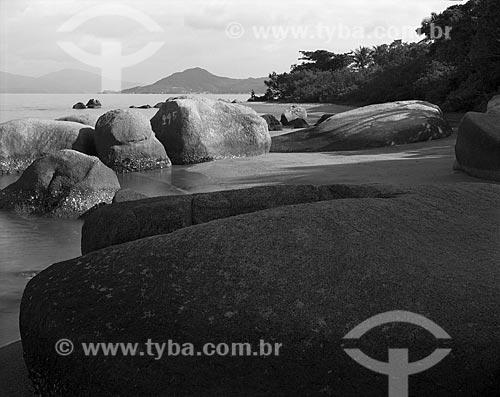 Assunto: Praia do Cacupé / Local: Florianópolis - Santa Catarina (SC) - Brasil / Data: 1986