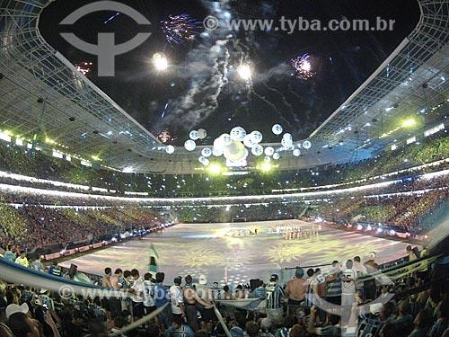 Assunto: Cerimônia de inauguração da Arena do Grêmio - foto feita com GoPro / Local: Humaitá - Porto Alegre - Rio Grande do Sul (RS) - Brasil / Data: 12/2012