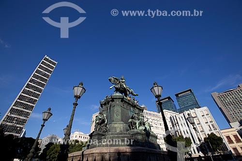 Assunto: Estátua equestre de Dom Pedro I (1862) na Praça Tiradentes / Local: Centro - Rio de Janeiro (RJ) - Brasil / Data: 06/2013