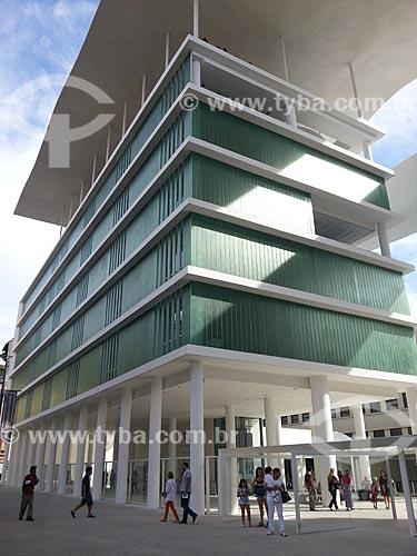Assunto: Fachada do Museu de Arte do Rio (MAR) - foto feita com celular Samsung Galaxy S3 / Local: Rio de Janeiro (RJ) - Brasil / Data: 05/2013