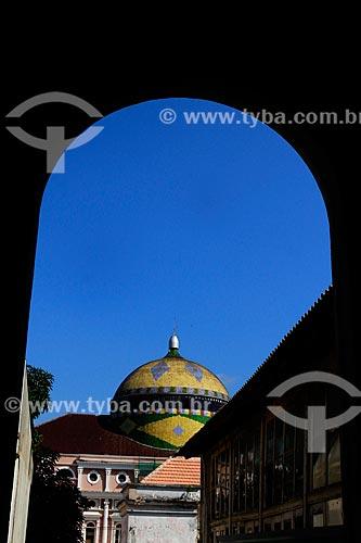 Assunto: Vista da cúpula do Teatro Amazonas (1896) / Local: Manaus - Amazonas (AM) - Brasil / Data: 07/2012