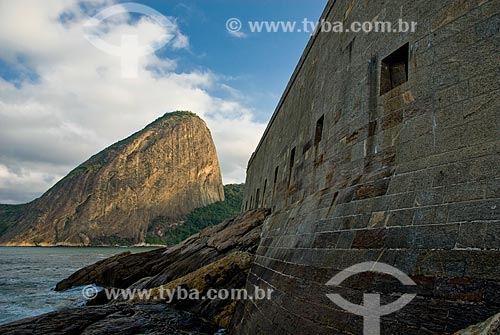 Assunto: Fortaleza de São João - também conhecida como Fortaleza de São João da Barra do Rio de Janeiro / Local: Urca - Rio de Janeiro (RJ) - Brasil / Data: 07/2007