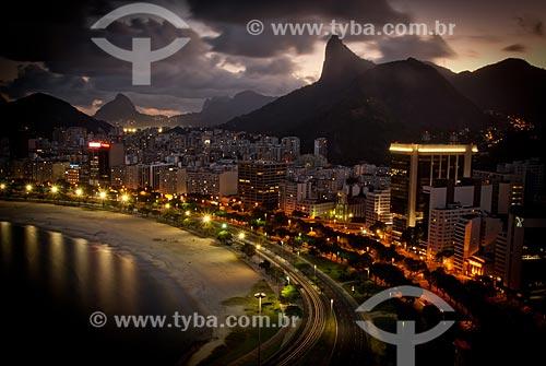 Assunto: Praia de Botafogo, Avenida das Nações Unidas e prédios / Local: Botafogo - Rio de Janeiro (RJ) - Brasil / Data: 07/2008