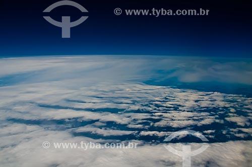 Assunto: Céu com nuvens / Local: Rio de Janeiro (RJ) - Brasil / Data: 10/2009