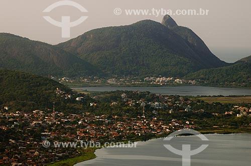 Assunto: Vista da Lagoa de Itaipu e Camboinhas com a Lagoa de Piratininga ao fundo / Local: Camboinhas - Niterói - Rio de Janeiro (RJ) - Brasil / Data: 05/2007