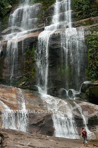 Assunto: Cachoeira na Reserva Ecológica de Guapiaçu / Local: Distrito de Guapiaçu - Cachoeiras de Macacu - Rio de Janeiro (RJ) - Brasil / Data: 02/2012