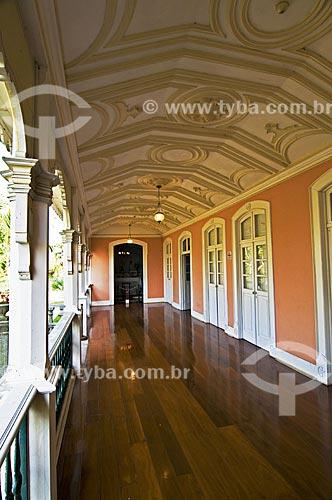 Assunto: Varanda do Museu Casa de Quissamã - antiga residência do Visconde de Araruama / Local: Quissamã - Rio de Janeiro (RJ) - Brasil / Data: 06/2013