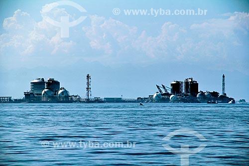 Assunto: Vista do terminal de gás liquefeito de petróleo (GLP) na Ilha Redonda na Baía de Guanabara / Local: Rio de Janeiro (RJ) - Brasil / Data: 07/2013