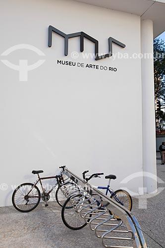 Assunto: Bicicletário do Museu de Arte do Rio (MAR) / Local: Centro - Rio de Janeiro (RJ) - Brasil / Data: Julho 2013