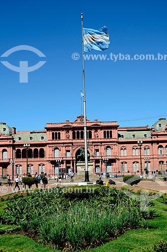 Assunto: Casa Rosada (1898) - também conhecida com Casa de Gobierno é a sede do governo da Argentina / Local: Buenos Aires - Argentina - América do Sul / Data: 01/2012