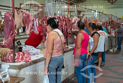 Assunto: Mercado municipal de carnes e cereais no Centro Comercial Joel Vilela da Silva / Local: Arcoverde - Pernambuco (PE) - Brasil / Data: 06/2013