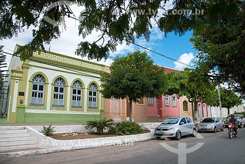 Assunto: Casarios na Rua Cardeal Arcoverde no centro da cidade / Local: Pesqueira - Pernambuco (PE) - Brasil / Data: 06/2013