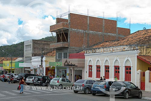 Assunto: Comércio na Rua Duque de Caxias / Local: Pesqueira - Pernambuco (PE) - Brasil / Data: 06/2013