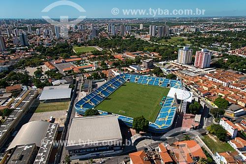 Assunto: Vista aérea do Estádio Presidente Vargas (1941) / Local: Benfica - Fortaleza - Ceará (CE) - Brasil / Data: 06/2013