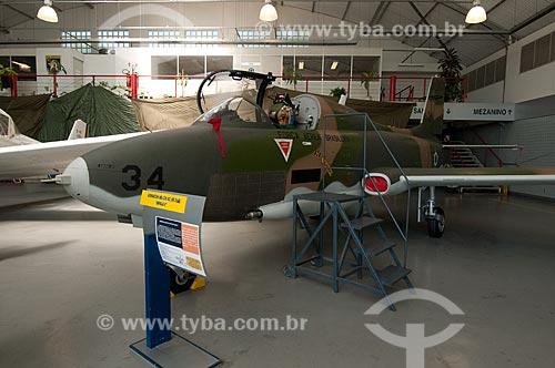 Assunto: Aermacchi MB-326 - também conhecido como Xavante - em exposição no Museu Aeroespacial / Local: Campo dos Afonsos - Rio de Janeiro (RJ) - Brasil / Data: 08/2012