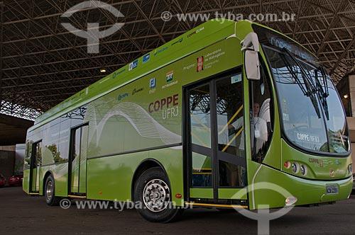 Assunto: Apresentação de ônibus elétrico desenvolvido pela Universidade Federal do Rio de Janeiro (UFRJ) durante o Michelin Challenge Bibendum / Local: Jacarepaguá - Rio de Janeiro (RJ) - Brasil / Data: 05/2010