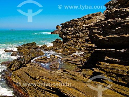 Assunto: Formações rochosas na Praia da Ferradurinha / Local: Armação dos Búzios - Rio de Janeiro (RJ) - Brasil / Data: 08/2011