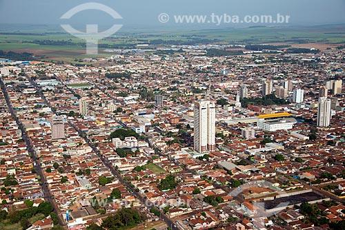 Assunto: Vista aérea da cidade de Sertãozinho / Local: Sertãozinho - São Paulo (SP) - Brasil / Data: 05/2013