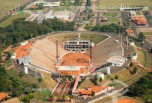 Assunto: Vista aérea da Arena de Barretos no Parque do Peão de Boiadeiro / Local: Barretos - São Paulo (SP) - Brasil / Data: 05/2013