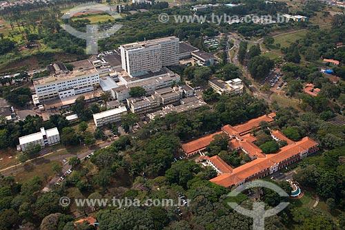 Assunto: Vista aérea da Hospital das Clínicas e da Faculdade de Medicina de Ribeirão Preto / Local: Ribeirão Preto - São Paulo (SP) - Brasil / Data: 05/2013