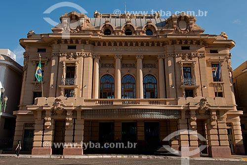 Assunto: Fachada do Teatro Pedro II (1930) / Local: Ribeirão Preto - São Paulo (SP) - Brasil / Data: 05/2013