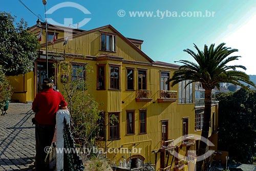 Assunto: Casa Museo Mirador Lukas no Cerro Concepción (Morro Concepção) / Local: Valparaíso - Chile - América do Sul / Data: 05/2013