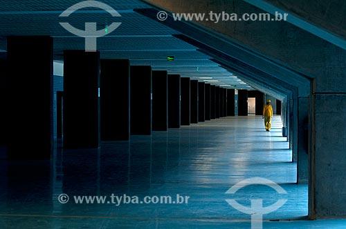 Assunto: Colunas de sustentação da Arena do Grêmio (2012) / Local: Humaitá - Porto Alegre - Rio Grande do Sul (RS) - Brasil / Data: 04/2013