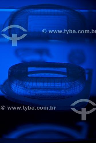 Assunto: Maquete da Arena do Grêmio / Local: Humaitá - Porto Alegre - Rio Grande do Sul (RS) - Brasil / Data: 05/2013