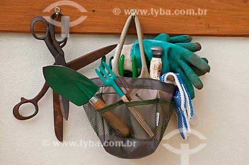 Assunto: Ferramentas para trabalho em horta / Local: Campos de Cima da Serra - Rio Grande do Sul (RS) - Brasil / Data: 09/2013