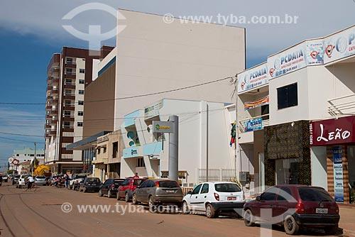 Assunto: Fachada de edifícios comerciais / Local: Luis Eduardo Magalhães - Bahia (BA) - Brasil / Data: 07/2013