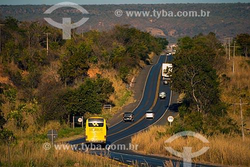 Assunto: Rodovia BR-242 próximo à Barreiras / Local: Barreiras - Bahia (BA) - Brasil / Data: 07/2013