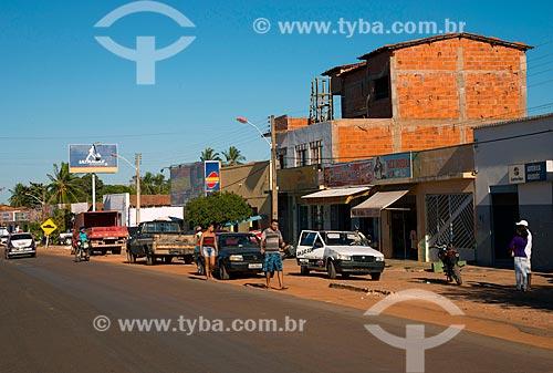 Assunto: Trecho da BR-135 na cidade de Gilbués / Local: Gilbués - Piauí (PI) - Brasil / Data: 07/2013