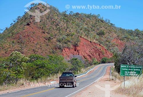 Assunto: Rodovia BR-135 - também conhecida como Transpiauí - próximo à São Gonçalo da Gurgéia / Local: Gilbués - Piauí (PI) - Brasil / Data: 07/2013